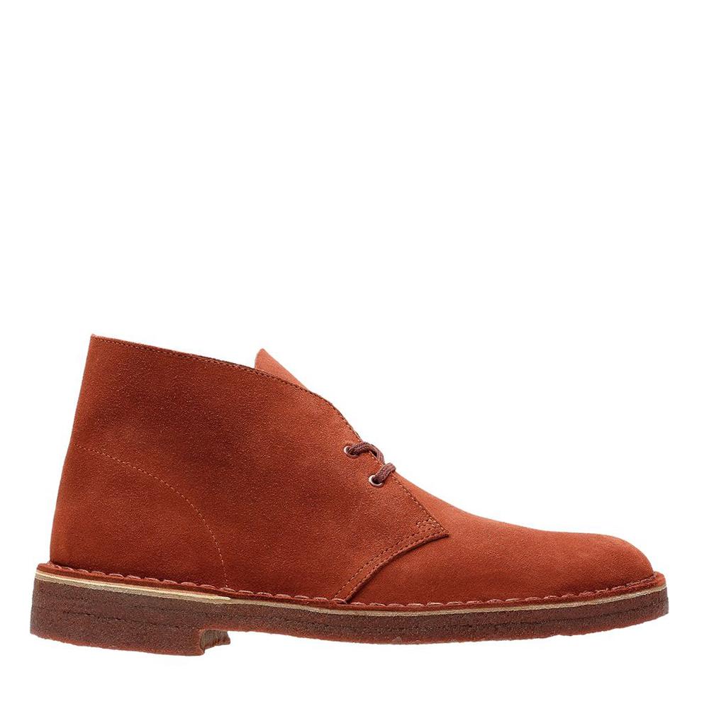 d0df95422 Clarks Desert Boot Suede (Mahogany) - Cool Js Online