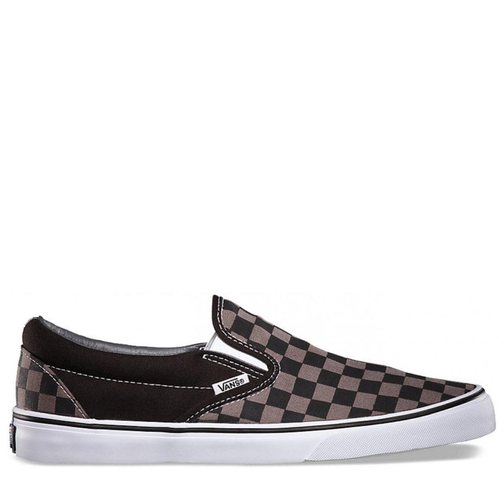 fc53f4546afb Vans Men s Classic Slip-On Shoes Black Pewter - Cool Js Online
