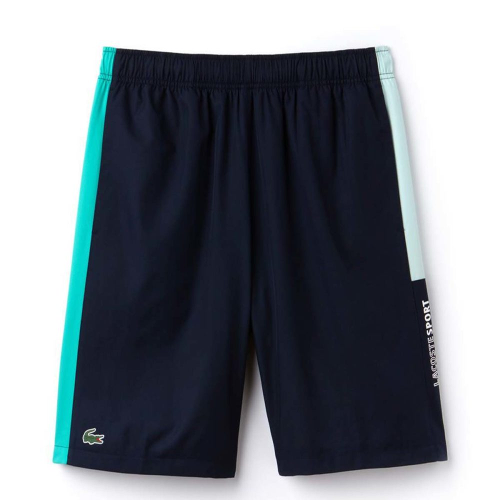 aefdaeed62d6 Men s Lacoste Sport Colored Bands Taffeta Tennis Shorts - Cool Js Online
