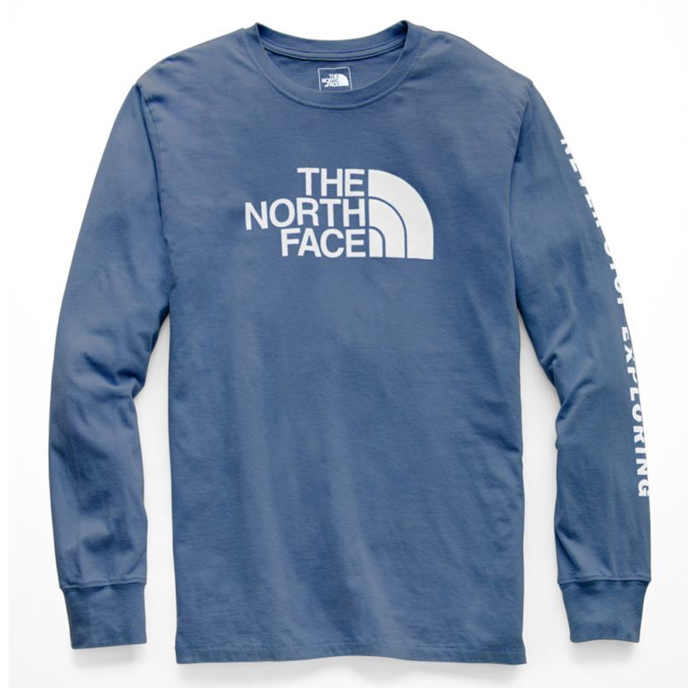 The North Face Men s Long-Sleeve Well-Loved Half Dome Tee - Cool Js ... 92bed4757a37