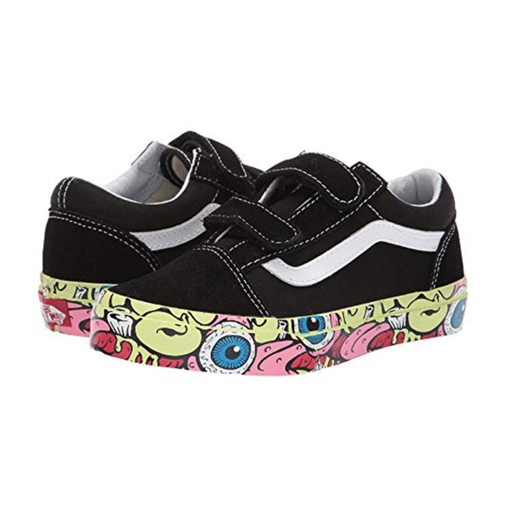 33418ab103c3 Vans Kids Old Skool V (Little Kid Big Kid) - Cool Js Online