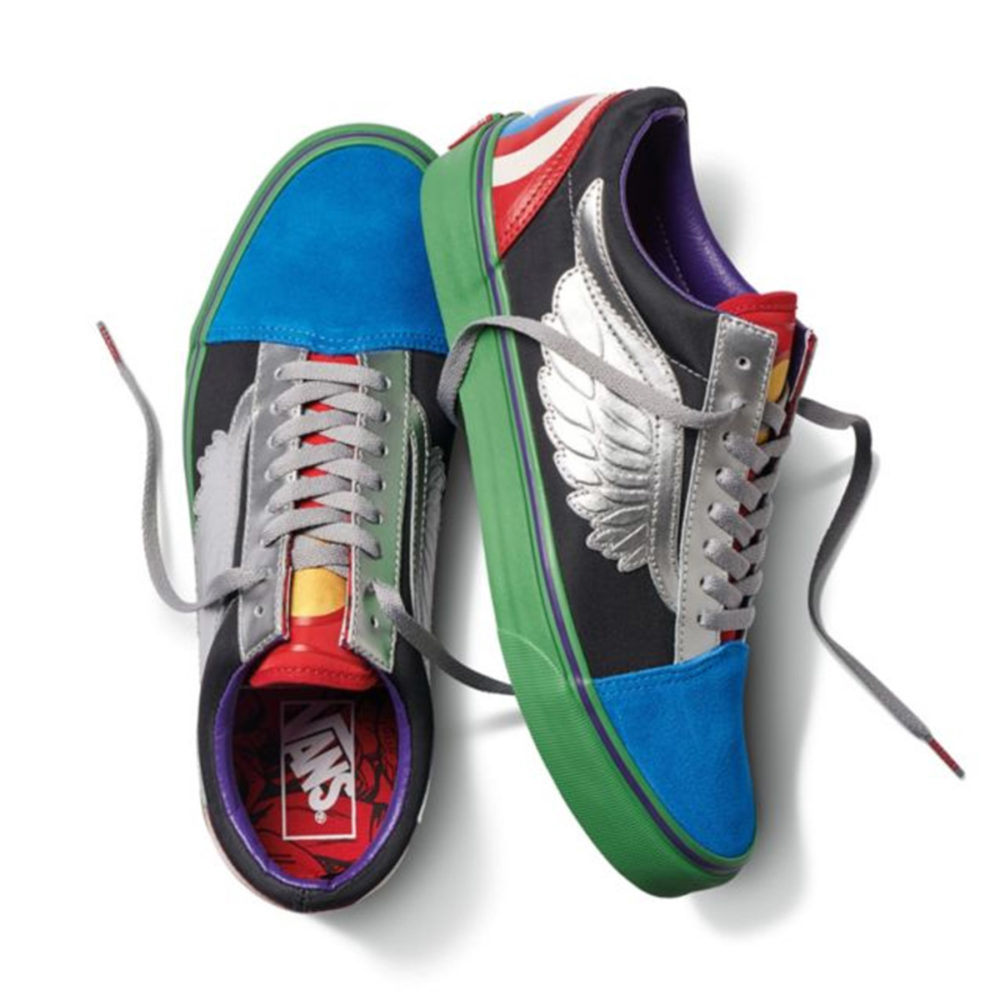 d4a9eb0274 Vans Kids X Marvel Old Skool Avengers - Cool Js Online