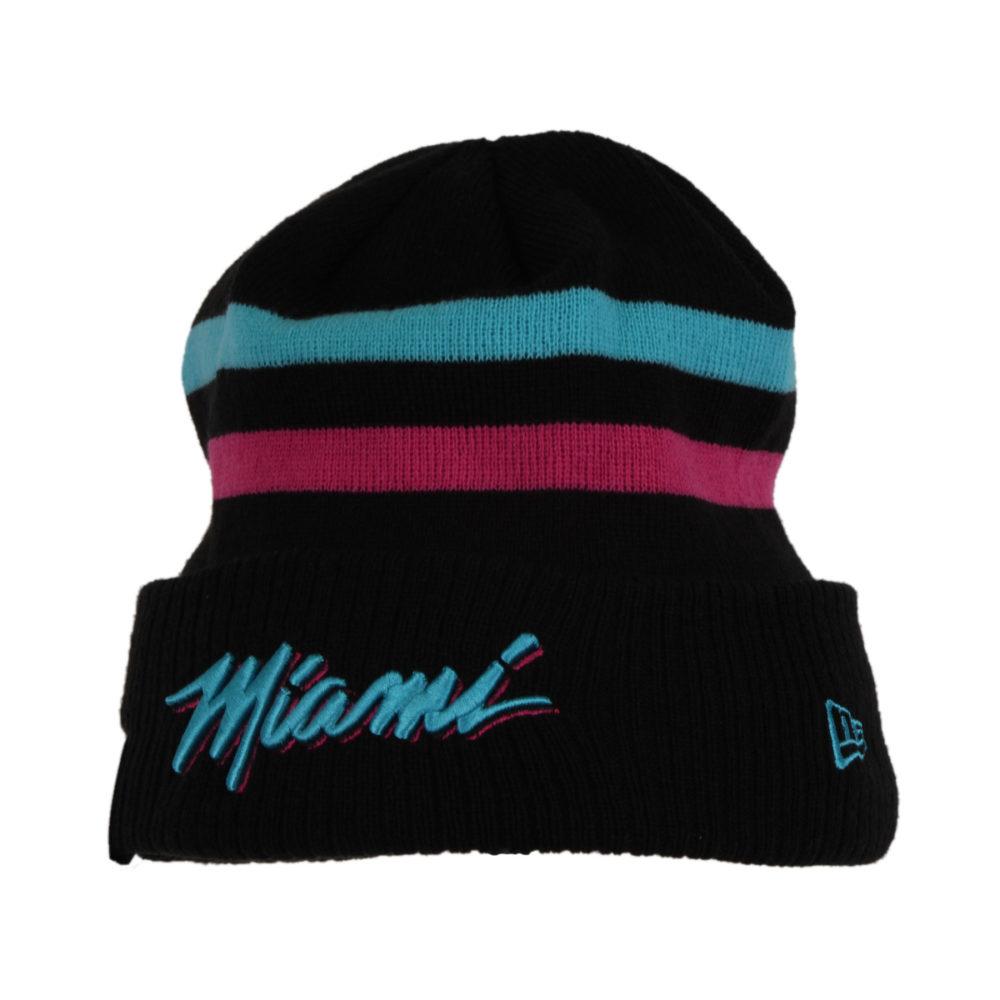 new concept 240f7 8fe51 Miami Heat Knit Beanie