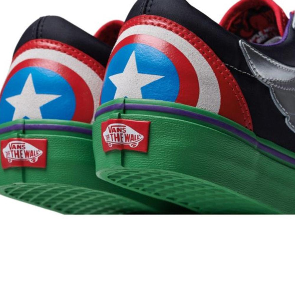 afe04673777 Vans Kids X Marvel Old Skool Avengers - Cool Js Online