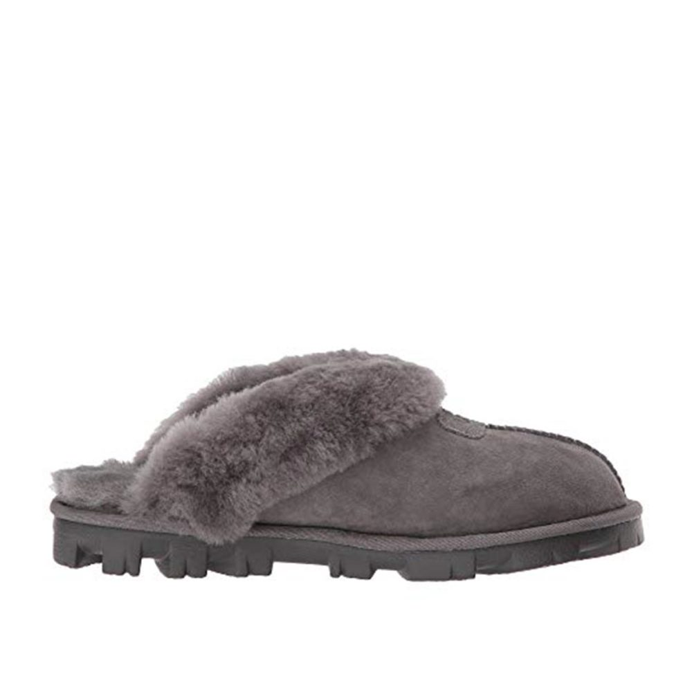 8df94509757 UGG® Genuine Coquette Shearling Slipper Grey
