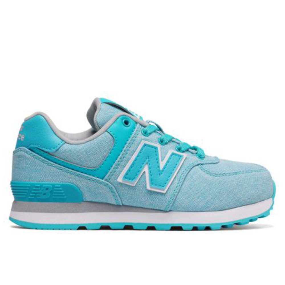 separation shoes e40b9 59324 Kid's New Balance 574 Suede Mesh
