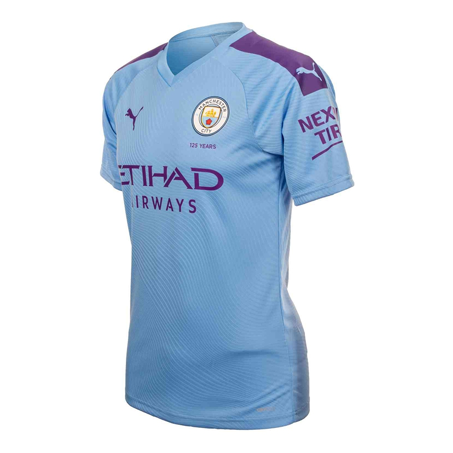 online retailer bfe6c eae07 Manchester City FC Home Replica Jersey