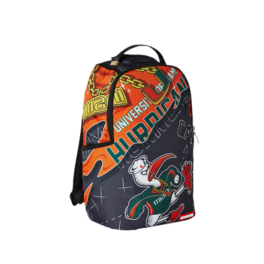 1a8b35501254 Sprayground University of Miami Backpack - Cool Js Online