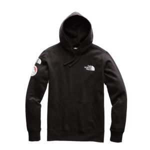north face black