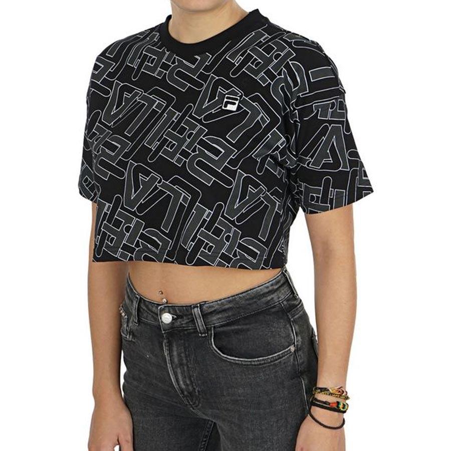 Women's Fila Brea Crop Tee - Cool Js Online
