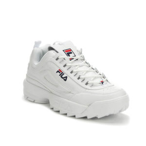 FILA-DISRUPTOR-WHITE-ANGLE VIEW
