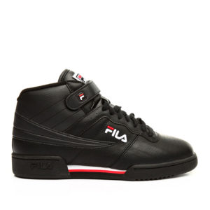 FILA-F-13-BLACK AND RED-SIDE VIEW