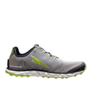 altra-SUPERIOR4-GREY/LIME-BACK SIDE VIEW