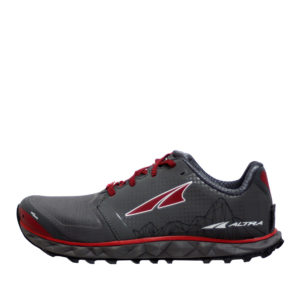 altra-SUPERIOR4-GREY/RED-SIDE VIEW
