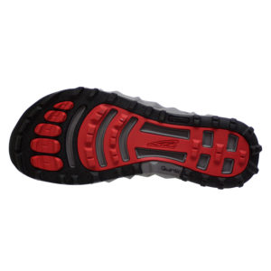 altra-SUPERIOR4-GREY/RED-BOTTOM VIEW