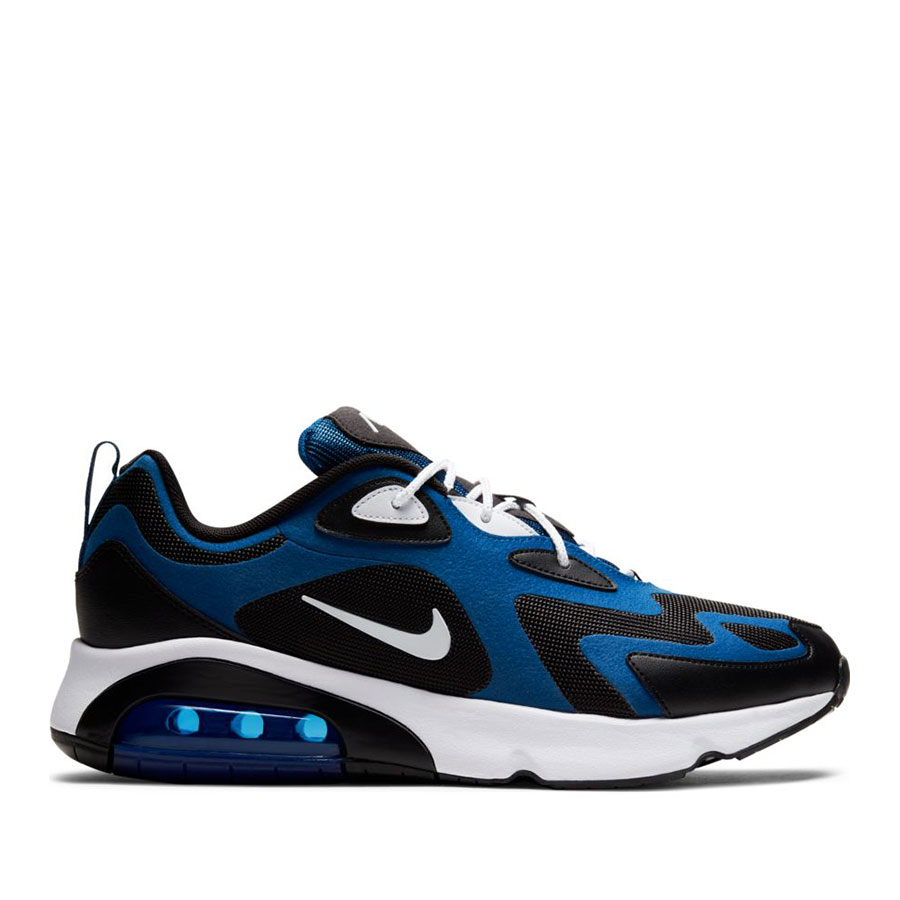 Men's Nike Air Max 200 - Black/Blue/White