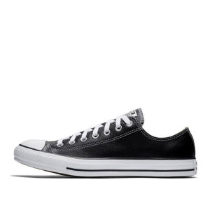converse-all-star-leather-lowtop-black-back side view