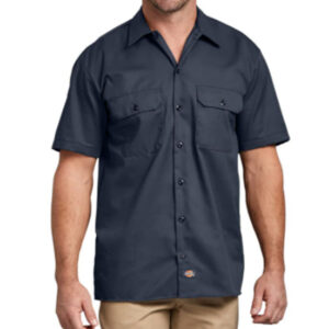 mens-dickies-dark-navy-work-shirt