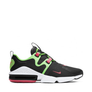nike-air-max-infinity-green-orange-mens-black