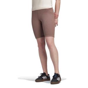 Adidas-Womens-biker-shorts-brown