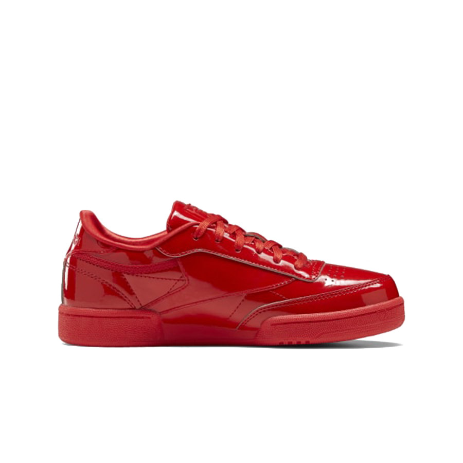 punto Rebelión Referéndum  Women's Reebok Cardi B Club C Double Sneakers - Red/Red - Cool Js Online