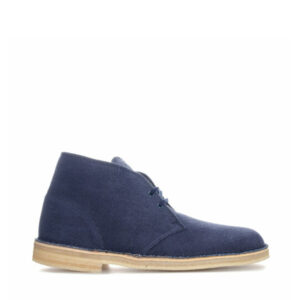 clarks-boot-navy-fabric