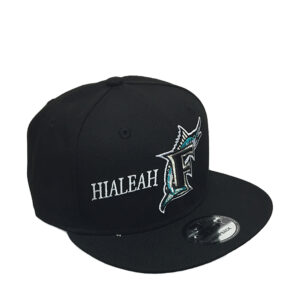 hialeah-florida-marlins-hat-snapback-black