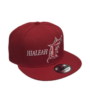 florida-marlins-hialeah-red-snapback