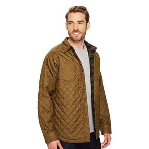 the-north-face-fort-point-insulated-flannel-jacket-brown