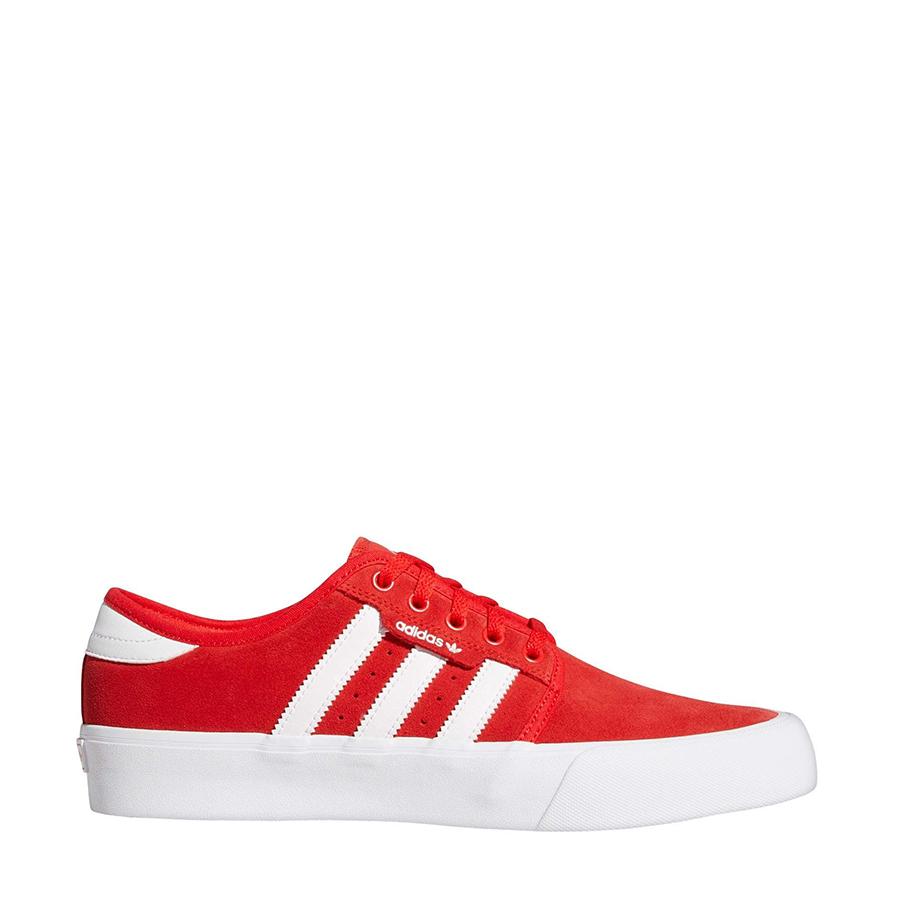 Men's Adidas Seeley XT Tennis Shoes – Vivid Red / Cloud White / Gum