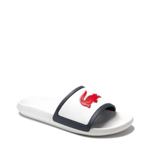 lacoste-croco-rubber-strap-synthetic-slides-red-white-navy