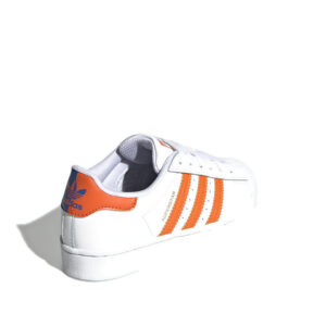 Adidas-superstar-white-orange-blue-backcornerangle