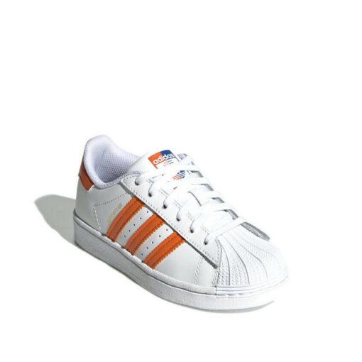 Adidas-superstar-white-orange-blue-cornerangle