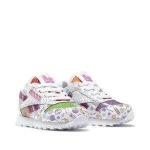 Reebok-Infant-Candy-Land-Classic-Leather-Shoes-cornerangle