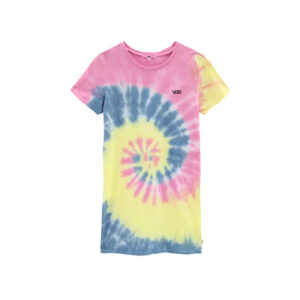 Vans-Spiraling-Tshirt-Dress-Orchid-frontangle