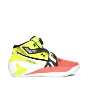 Puma-DISC-Rebirth-Basketball-Shoes-YellowAlert-RedBlast-sideangle